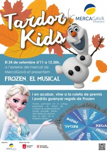 Frozen Mercagava - tardor kids