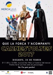 Carnestoltes 2017 mercagava star wars