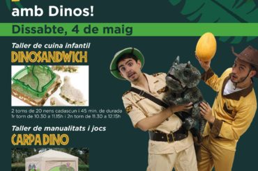 Aventura prehistórica con Dinos